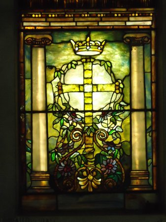 Cave Hill Cemetery: Stain glass