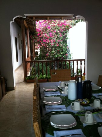Casa del Tejadillo : Dinning upstairs