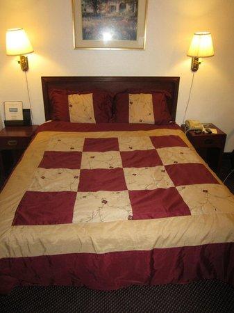 Rodeway Inn & Suites Portland: No cotton pillow cases. Only nylon pillow cases.