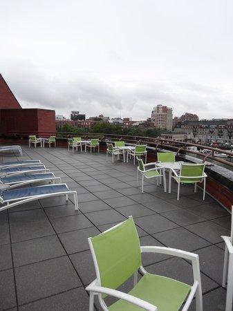 Boston Marriott Long Wharf: deck