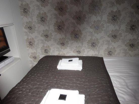 Aviva Studio Apartments: View of the Bed