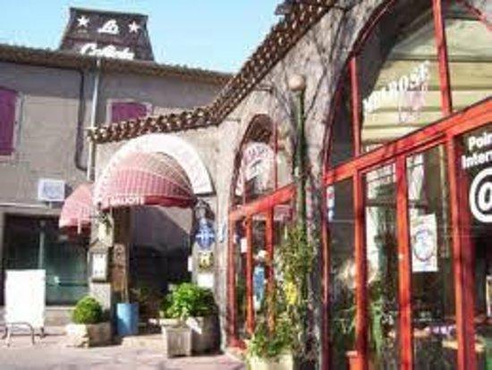 Hotel La Galiote : ENTREE DE L'HOTEL