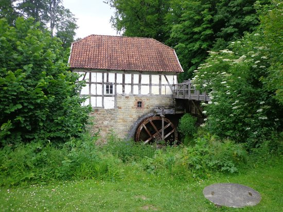 LWL-Freilichtmuseum Detmold: watermill