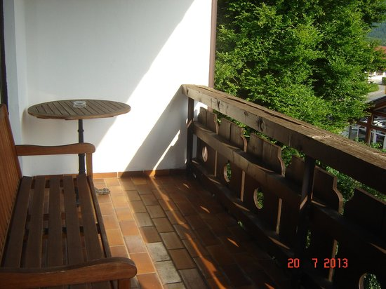 Hotel Forsthaus: Balcony