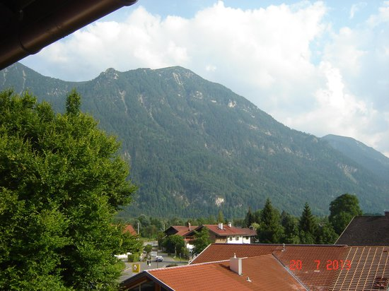 Hotel Forsthaus: Mountain view