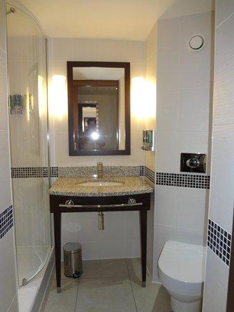 Hampton by Hilton London Croydon: Sanitäreinheit