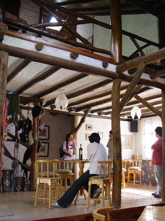 Hospedaje Higueron : el interior del restaurante