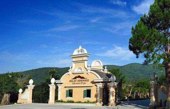 Dalat Edensee Resort & Spa : Main gate Edensee