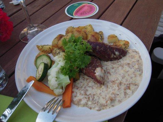 Ravintola Patapirtti: Reindeer steak.