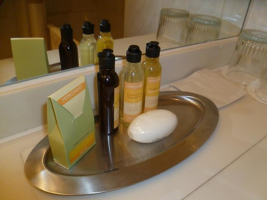 Glasgow Marriott Hotel: Toiletries