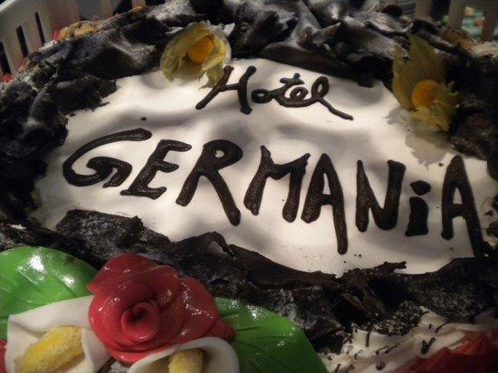Hotel Germania : La torta