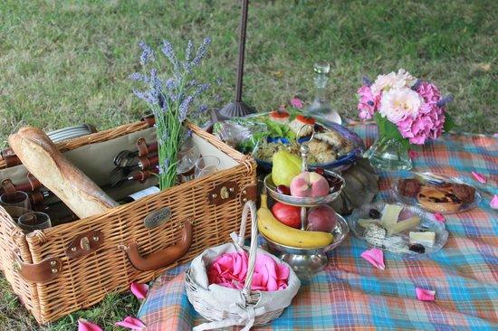 Chateau Valcreuse: Picknick