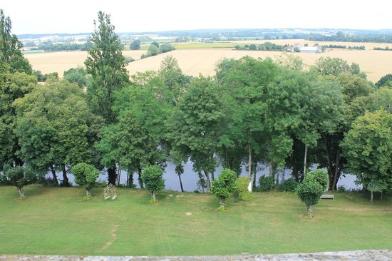 Chateau Valcreuse : room with a view
