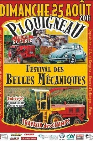 Ecomusée de Plouigneau: Festival des belles mécaniques édition 2013
