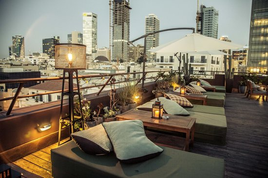 Brown TLV Urban Hotel: Rooftop Kopie