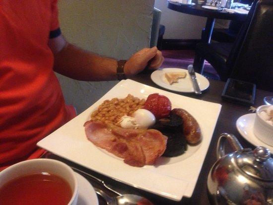 The Black Horse Inn: Breakfast