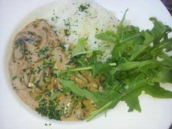 Toast Cafe Bar & Grill Restaurant Blackpool : Mushroom stroganoff