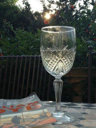 Mas Pallares: Abendstimmung auf der Grand Terrasse