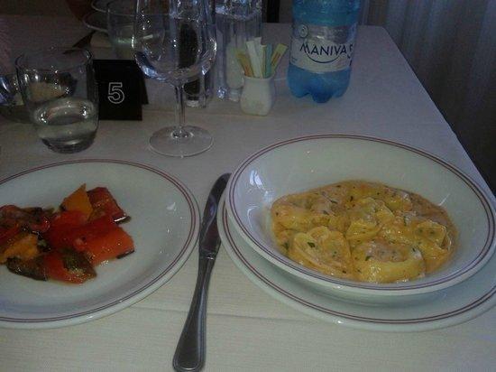 Hotel Vecchia Rimini: Tortelloni alla Granceola