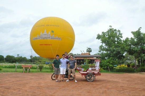 Angkor Transport Services: Hot Air Balloon