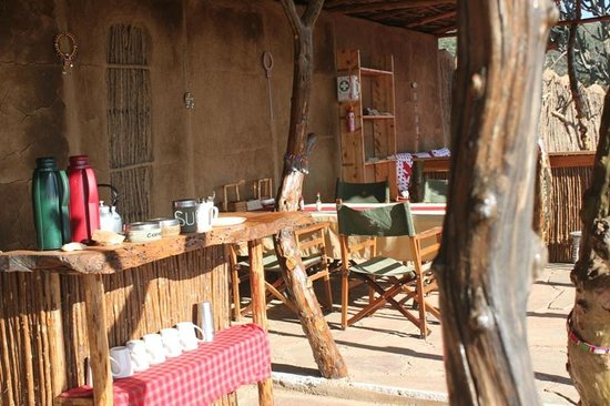 Maji Moto Eco Camp: Dining