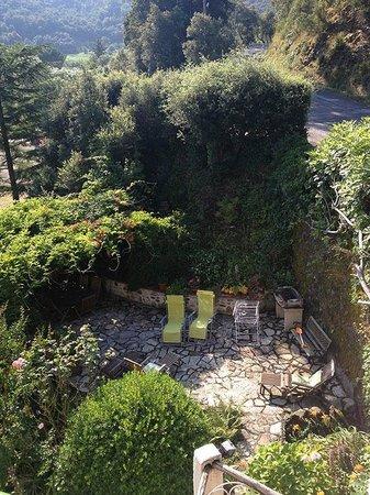 Mas Pallares: der Blick auf eine der Terrassen