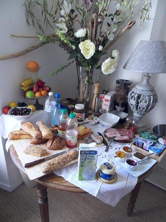 Le Mas de la Filoselle : Petit déjeuner