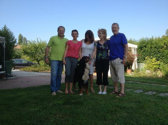 B&B Torricella : All together with the villa owners