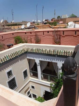 Dar Ihssane : View from the terrace