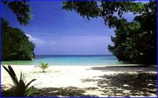 Frenchman's Cove Resort: the beach. paradise