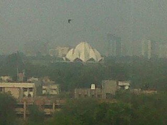 The Suryaa New Delhi: View From my Room