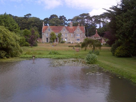 Merstone, UK: View of the house from the garden