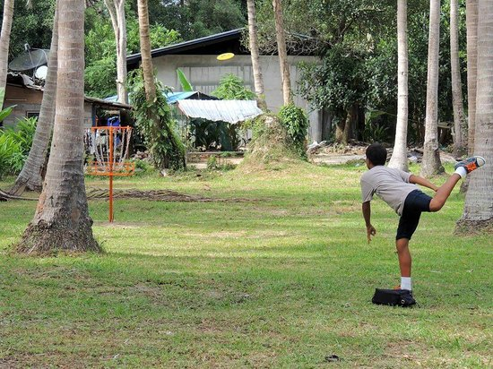 Samui Disc Golf: it's as easy as throwing the frisbee into the basket
