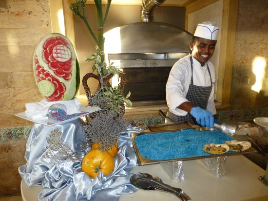 Creta Star Hotel : show cooking