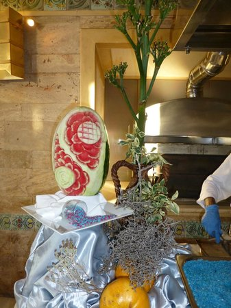 Creta Star Hotel : Sculpture sur fruit