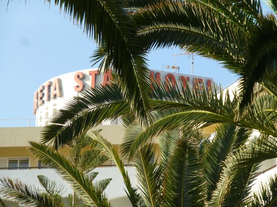 Creta Star Hotel : Vagetation