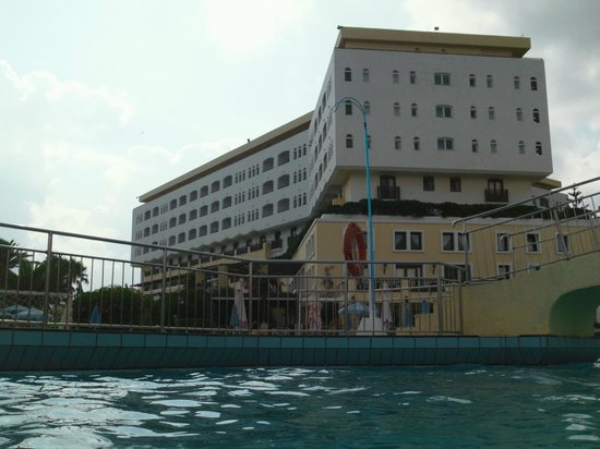 Creta Star Hotel : l'hôtel vu de la piscine