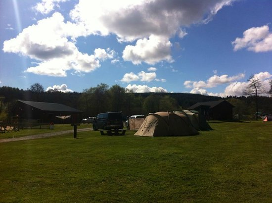 Kielder Caravan & Camping Site: The Kielder Campsite