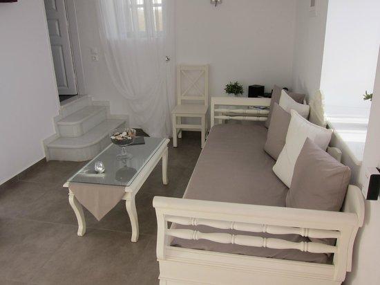 Archontiko Santorini : Salon