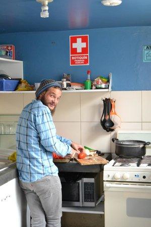 Hostel Kokopelli : The Kitchen