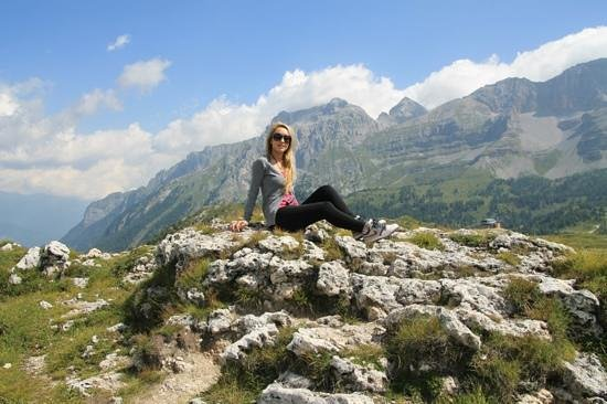 Madonna Di Campiglio, Italy: at chalet fiat