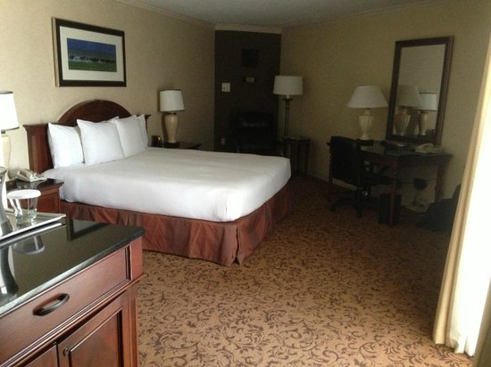 Hilton DFW Lakes Executive Conference Center: Bed area