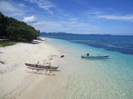 Gangga Island Resort & Spa: Beach