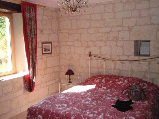 Le Clos a Bizay: Une des chambres