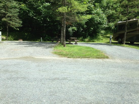 QUECHEE / PINE VALLEY KOA: sites 32 and 33