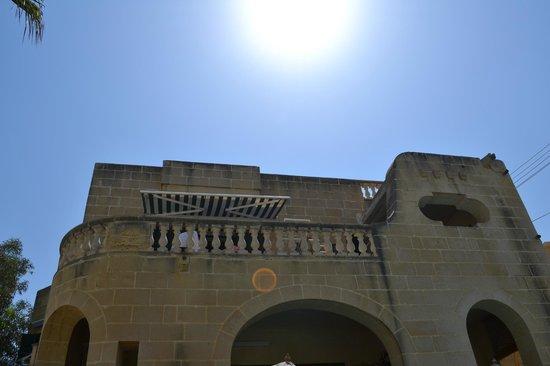 Our balcony at Villa Xemxija - apartment X12