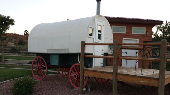 K3 Guest Ranch Bed & Breakfast: The Sheep Herder's Wagon
