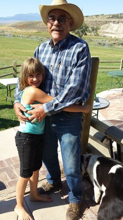 "K3 Guest Ranch Bed & Breakfast: My Daughter loved Jerry and his ""trick"" horses."