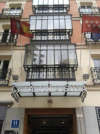 Catalonia Goya: Fachada