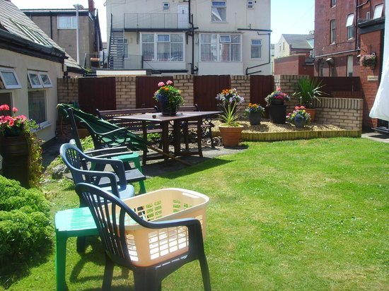 Garden Picture Of San Remo Apartments Blackpool Tripadvisor